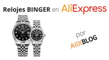 Analizamos los relojes Binger disponibles en AliExpress