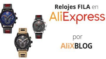Relojes FILA en AliExpress: cómo encontrarlos baratos