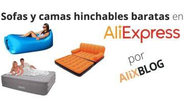 Colchones y sofás hinchables baratos en AliExpress: ¿valen la pena? ¿cual es el mejor?