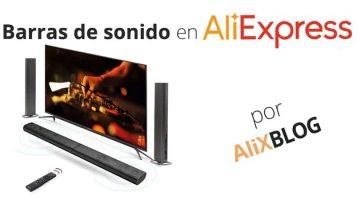 Barras de sonido baratas en AliExpress: mejora la calidad de sonido de tu televisor