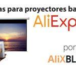 Pantallas para proyección: mejora la calidad de imagen de tu proyector con AliExpress