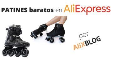 Patines en línea o de 4 ruedas: cómo comprarlos baratos en AliExpress