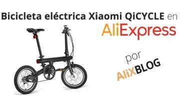 Analizamos la Xiaomi QiCycle EF1: una de las bicicletas eléctricas plegables más barata del mercado