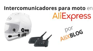 Review de Intercomunicadores de casco más vendidos en AliExpress