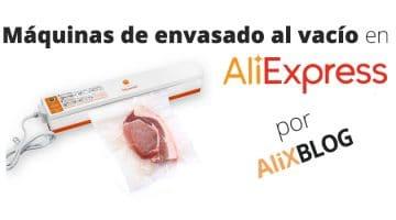 Envasadoras al vacío: almacena tu comida fácilmente con AliExpress