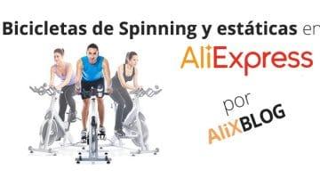 Bicicletas de spinning y estáticas en AliExpress: profesionales y baratas