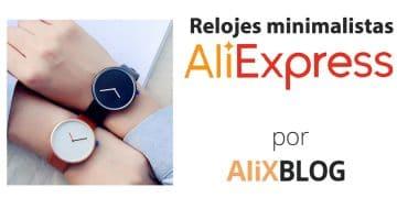 Cómo encontrar relojes minimalistas en AliExpress