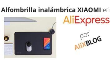 Así es la nueva alfombrilla con recarga inalámbrica de Xiaomi, disponible ya en AliExpress