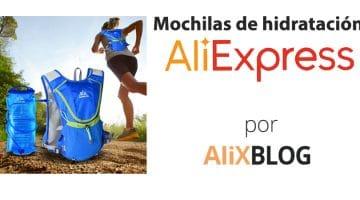 Mochilas de hidratación: cómo encontrarlas más baratas en AliExpress