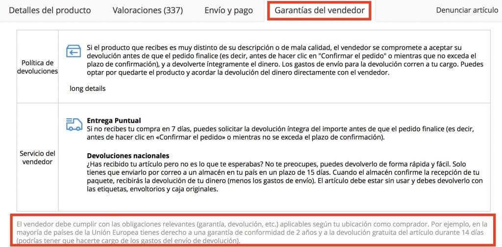 d3ee3acc71 ... sobretodo porque hay poca diferencia de precio entre comprarlo en  España y en China