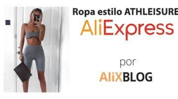 Athleisure: qué es y como ir a la moda por poco dinero en AliExpress