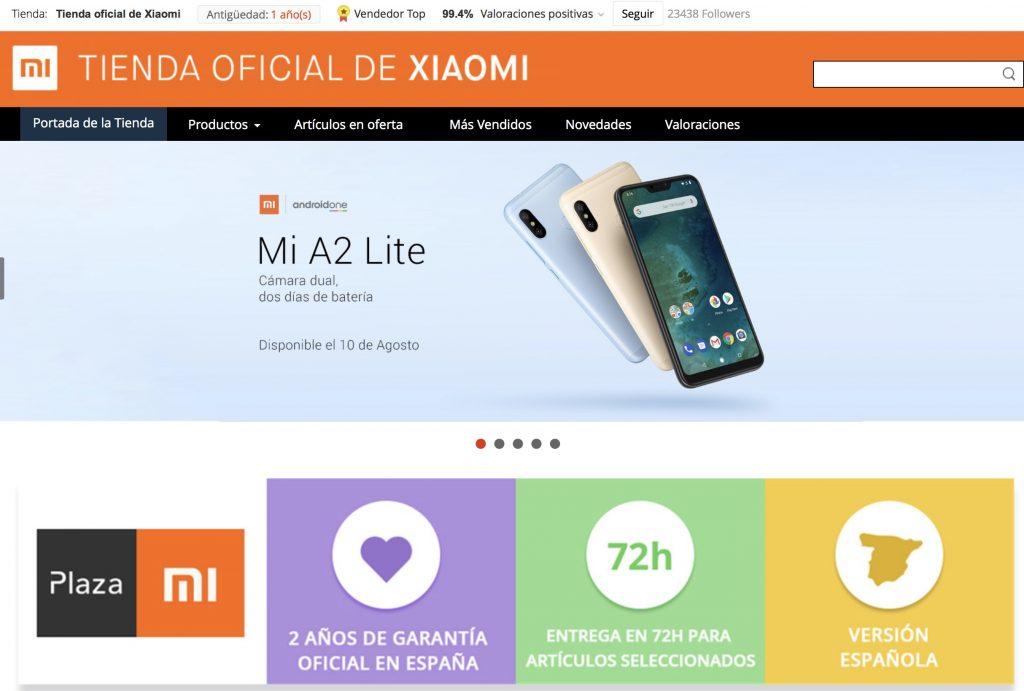 Los productos más famosos de Xiaomi se pueden encontrar en AliExpress  Plaza  smartwatch a70b2b8a276