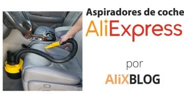 Aspiradores de coche: cómo comprarlos muy baratos en AliExpress