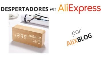Despertadores originales y baratos en AliExpress