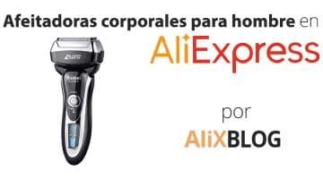 Afeitadoras corporales para hombre baratas en AliExpress