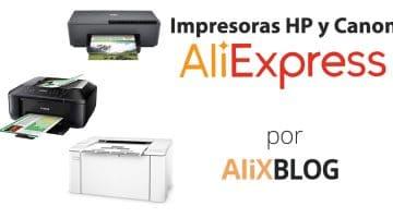 Cómo comprar impresoras Hp y Canon en AliExpress Plaza