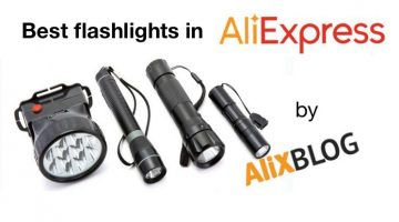 Special Post on Cheap Flashlights on AliExpress: types available and recommended sellers