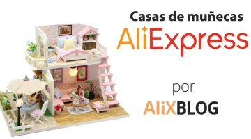 Casas de muñecas baratas en AliExpress