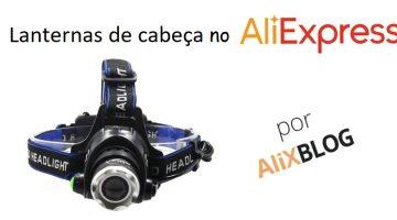 Lanternas de cabeça baratas no AliExpress – Guia de compra