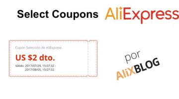 Select Coupons: tricks to get the best out of them in AliExpress