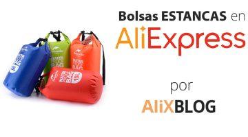 Cómo encontrar bolsas estancas muy baratas en AliExpress