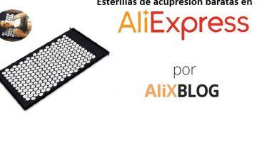 Comprar esterillas de acupresión baratas en AliExpress