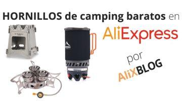 Hornillos portátiles para camping: cómo comprarlos más baratos en AliExpress