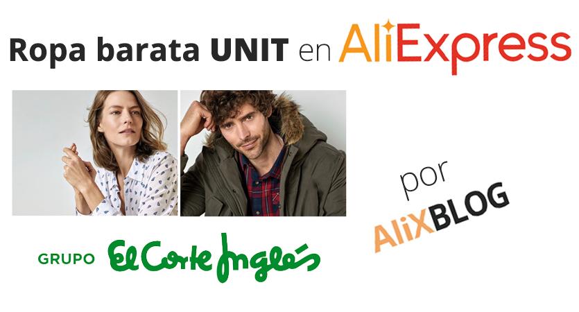 70d43da46534 Unit: la marca de El Corte Inglés que se vende por AliExpress