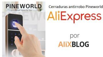 Pineworld: comprar cerraduras inteligentes antirrobo baratas en AliExpress
