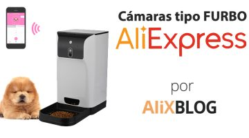 Dispensadores de comida automáticos tipo Furbo en AliExpress