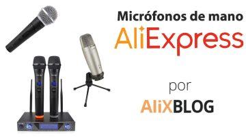 Analizamos los mejores micrófonos de mano de AliExpress