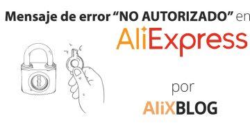 Solución para el mensaje de error «OOPS! Looks like your account isn't authorized to view this page» de AliExpress
