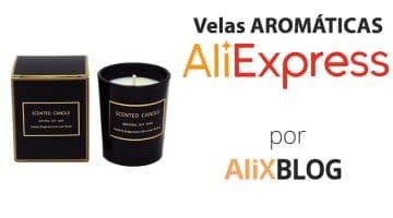 Velas aromáticas y decorativas en AliExpress