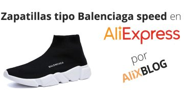 Zapatillas de estilo Balenciaga Speed en AliExpress