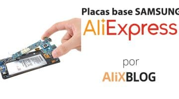 Cómo encontrar placas base Samsung más baratas en AliExpress