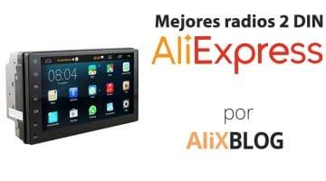 Radios 2 DIN baratas para tu coche en AliExpress