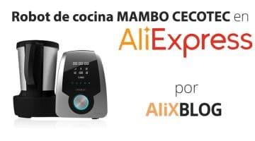 Análisis del robot de cocina Mambo de Cecotec disponible en AliExpress Plaza