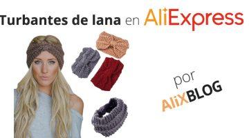 Turbantes de lana en AliExpress: protégete del frio con estilo