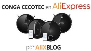 Analizamos los robots aspiradores Conga de Cecotec, disponibles en AliExpress