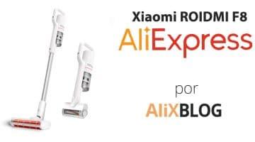 Analizamos el aspirador de mano Xiaomi Roidmi F8 disponible en AliExpress