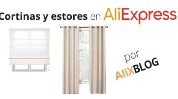 Decora tu casa con cortinas y estores baratos en AliExpress