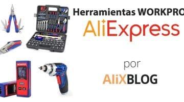 Analizamos la marca Workpro: herramientas para trabajar como un profesional en AliExpress