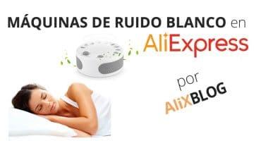 Máquinas de ruido blanco para dormir o relajarse en Aliexpress