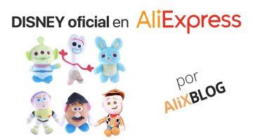 Ya puedes encontrar merchandasing Disney OFICIAL en AliExpress