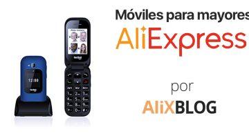 Mejores móviles para personas mayores baratos en AliExpress