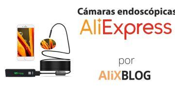 Cámaras endoscópicas baratas en AliExpress