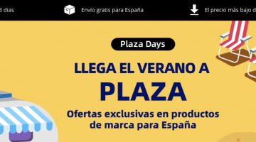 Llegan los Plaza Days de AliExpress con las mejores ofertas
