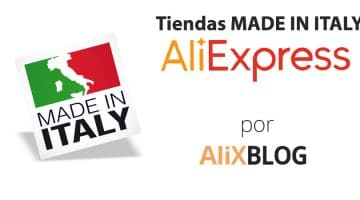 Cómo encontrar productos Made in Italy en AliExpress