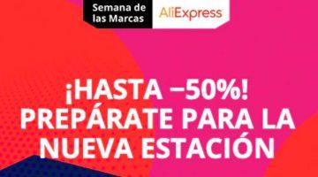 Las mejores ofertas en la «Semana de las Marcas» de AliExpress