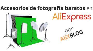 Los mejores accesorios de fotografía baratos en AliExpress